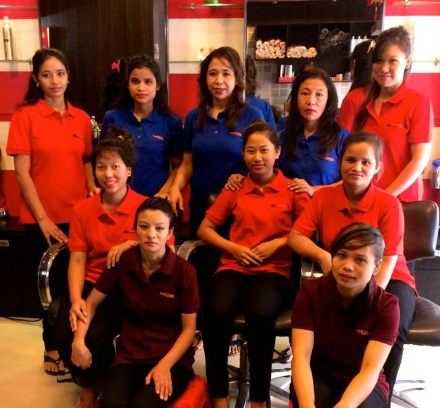 Christina Beauty Parlour Staff