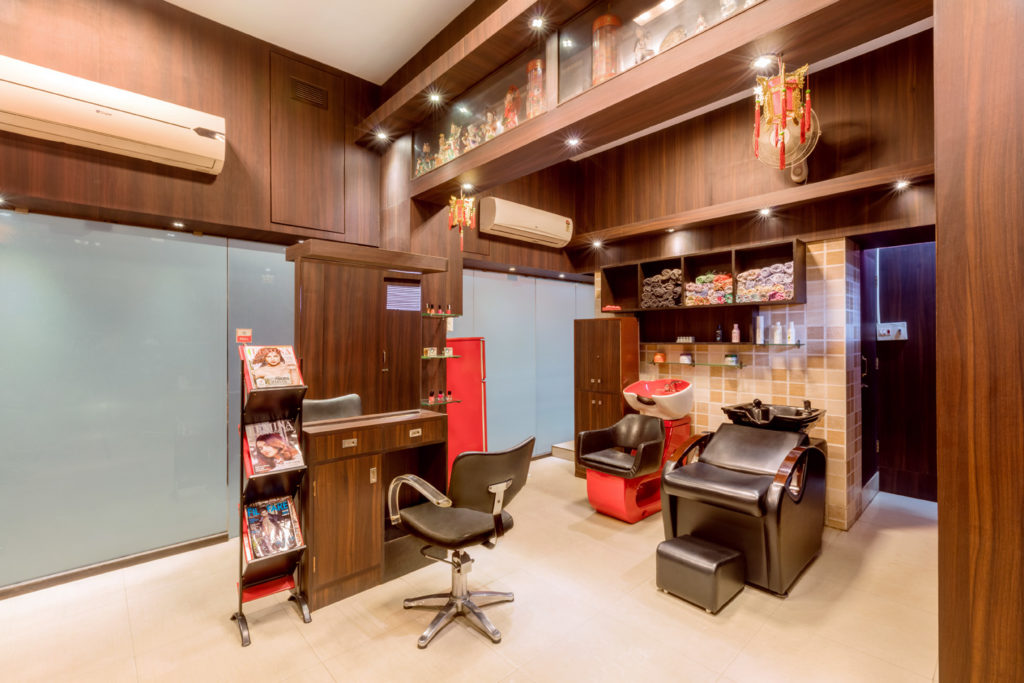 Christina Beauty Parlour Interior Photos